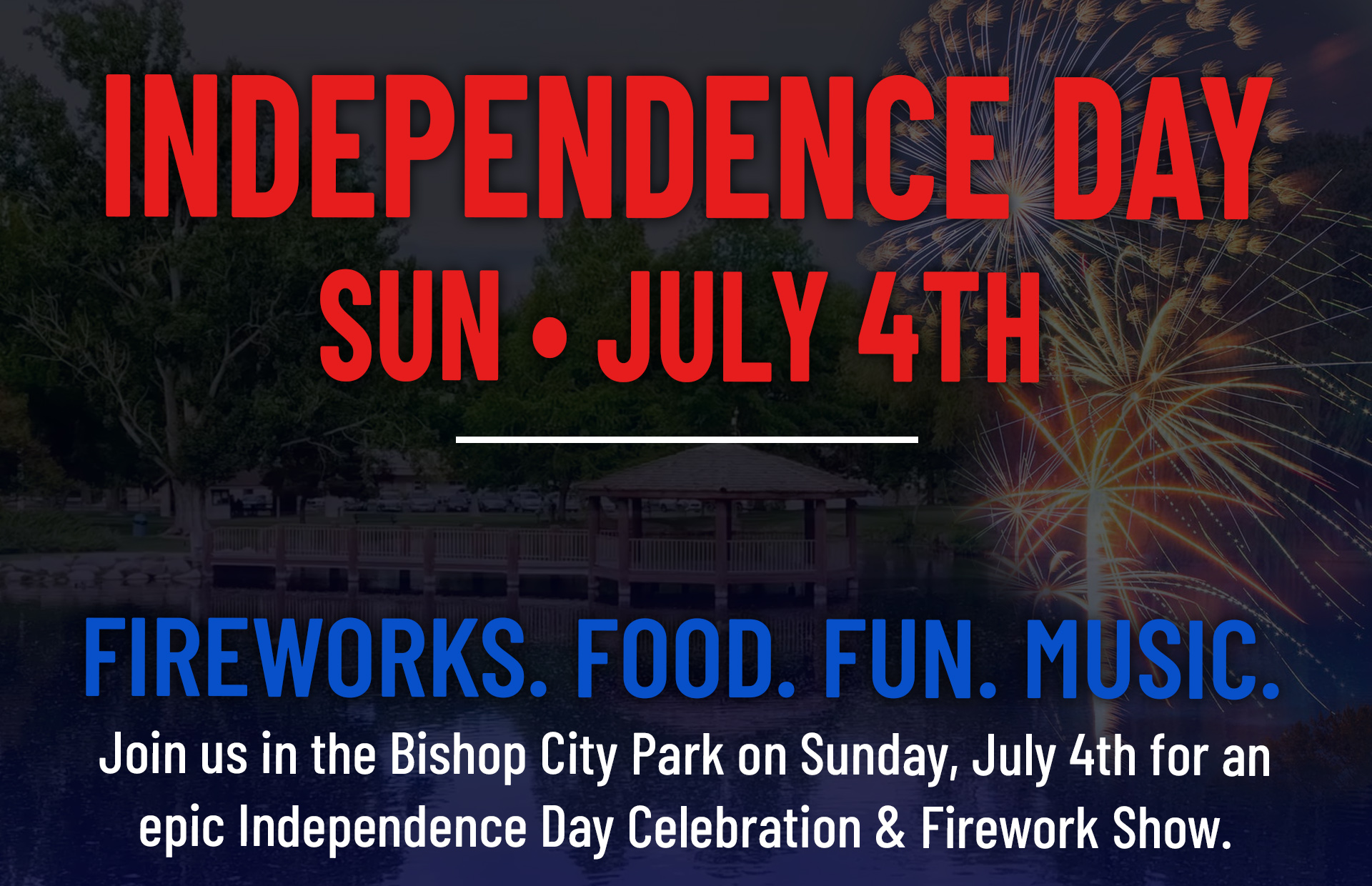 4th in the bishop city park community sponsors