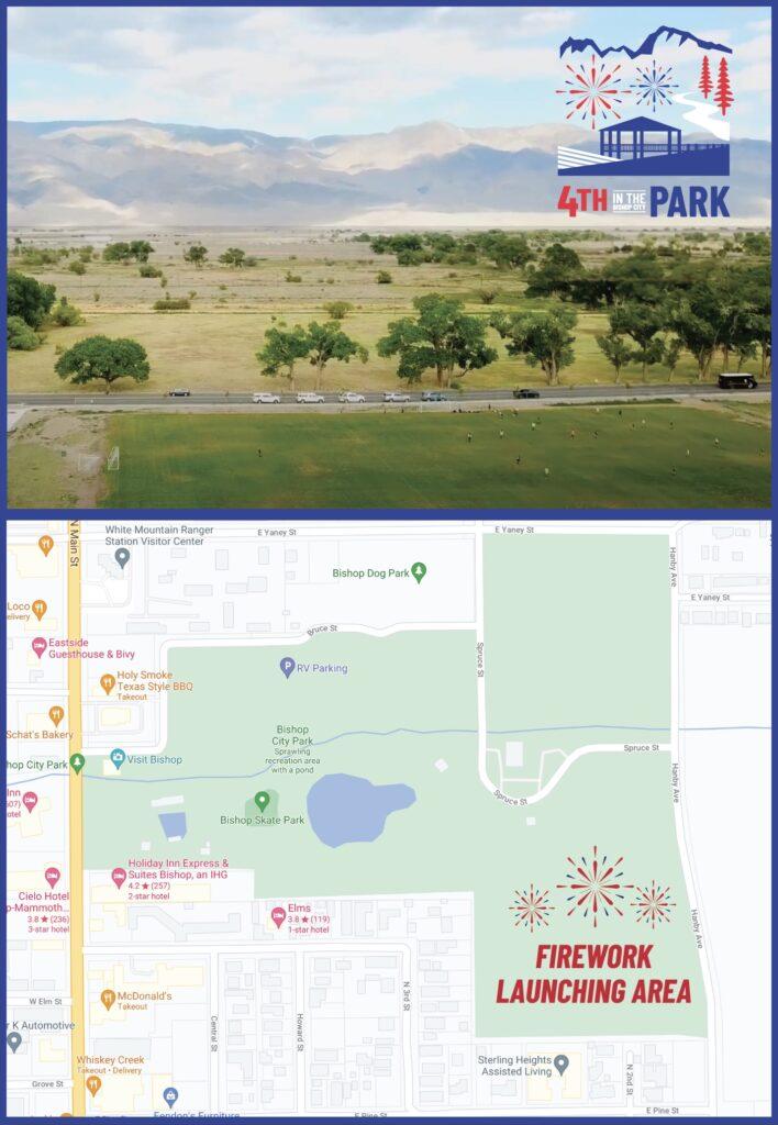 bishop park firework zone